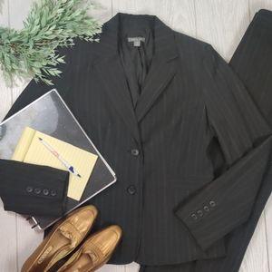 APT 9 KOHL'S 2 pc pinstripe suit blazer & trousers